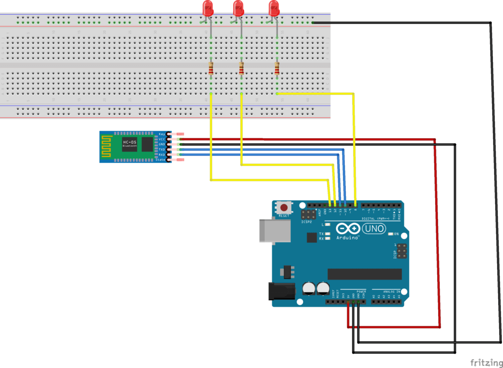 Connect hc-05 to arduino - YouTube